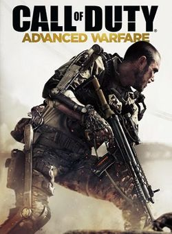 Box artwork for Call of Duty: Advanced Warfare.