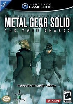 Box artwork for Metal Gear Solid: The Twin Snakes.