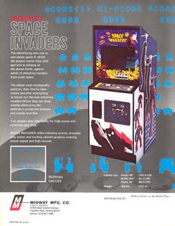 Box artwork for Space Invaders.