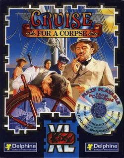 Box artwork for Cruise for a Corpse.