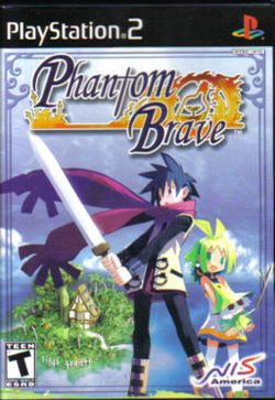 Box artwork for Phantom Brave.
