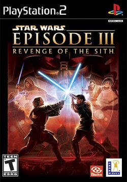 Box artwork for Star Wars Episode III: Revenge of the Sith.