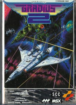 Box artwork for Gradius 2.