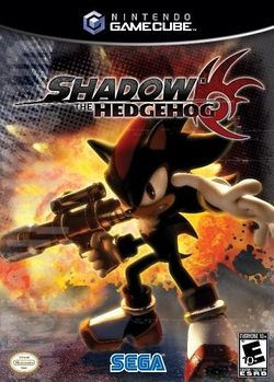Box artwork for Shadow the Hedgehog.