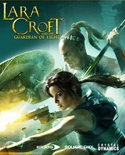 Box artwork for Lara Croft and the Guardian of Light.