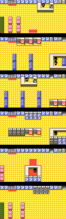 Pokemon Gold And Silver Goldenrod City Strategywiki The Video Game Walkthrough And Strategy Guide Wiki