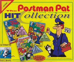 Box artwork for The Postman Pat Hit Collection.