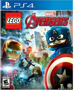 Box artwork for LEGO Marvel Avengers.
