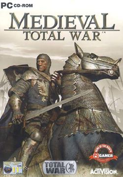 Box artwork for Medieval: Total War.