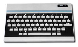 The console image for Oric-1.