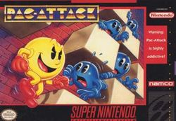 Box artwork for Pac-Attack.