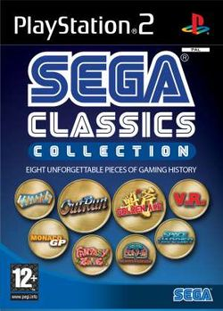 Box artwork for Sega Classics Collection.