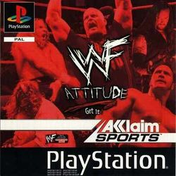 Box artwork for WWF Attitude.