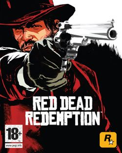 Box artwork for Red Dead Redemption.