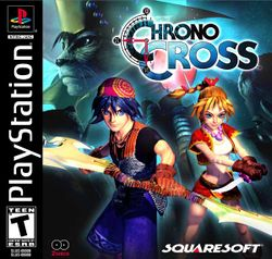 Box artwork for Chrono Cross.