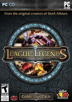 Box artwork for League of Legends.