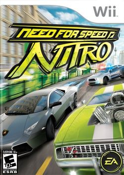 Box artwork for Need for Speed: Nitro.