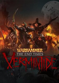 Box artwork for Warhammer: End Times - Vermintide.