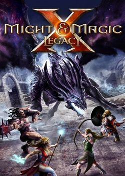 Box artwork for Might & Magic X: Legacy.