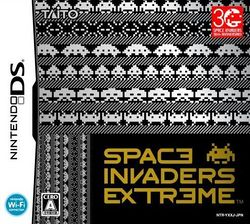 Box artwork for Space Invaders Extreme.