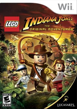 Box artwork for LEGO Indiana Jones: The Original Adventures.
