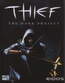 Box artwork for Thief: The Dark Project.