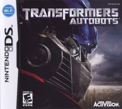 Box artwork for Transformers: Autobots.