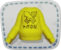 Sweat jaune K-Rex