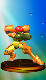 Samus Trophy (Smash).png