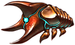 Triclops artwork from Metroid Prime