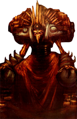 The Chozo as depicted in Metroid Prime