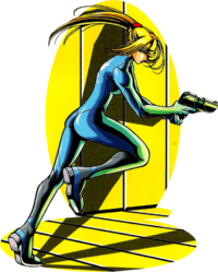 Zero Suit Samus in Zero Mission