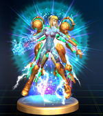 Power Suit Samus - Brawl Trophy.png