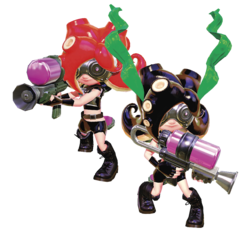 Octoling Inkipedia The Splatoon Wiki