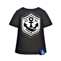 S Gear Clothing Black Anchor Tee.png