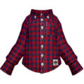 S Gear Clothing Red-Check Shirt.png