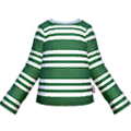 S Gear Clothing Green Striped LS.png