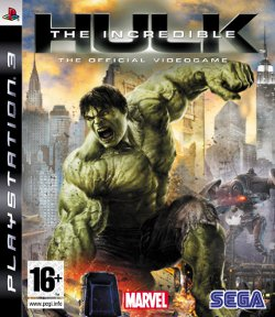 Box artwork for The Incredible Hulk.