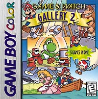 Box artwork for Game & Watch Gallery 2.