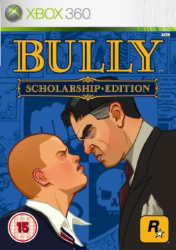 Box artwork for Bully: Scholarship Edition.