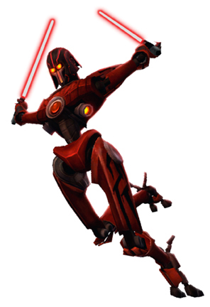 Star Wars The Clone Wars Lightsaber Duels Characters