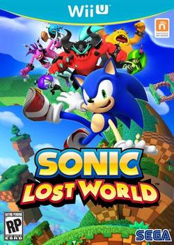 Box artwork for Sonic Lost World.