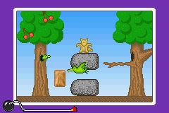 WarioWare MM microgame Two Birds Big Rocks.png