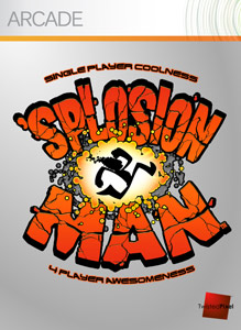 Box artwork for 'Splosion Man.