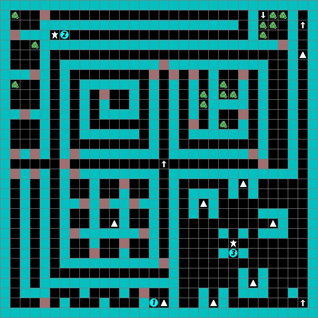 Deep dungeon madou senki floor 3 strategywiki the for Floor 2 dungeon map