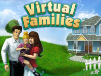 Box artwork for Virtual Families.