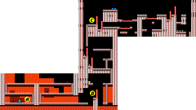 Mega Man 1 Fire Man map1.png