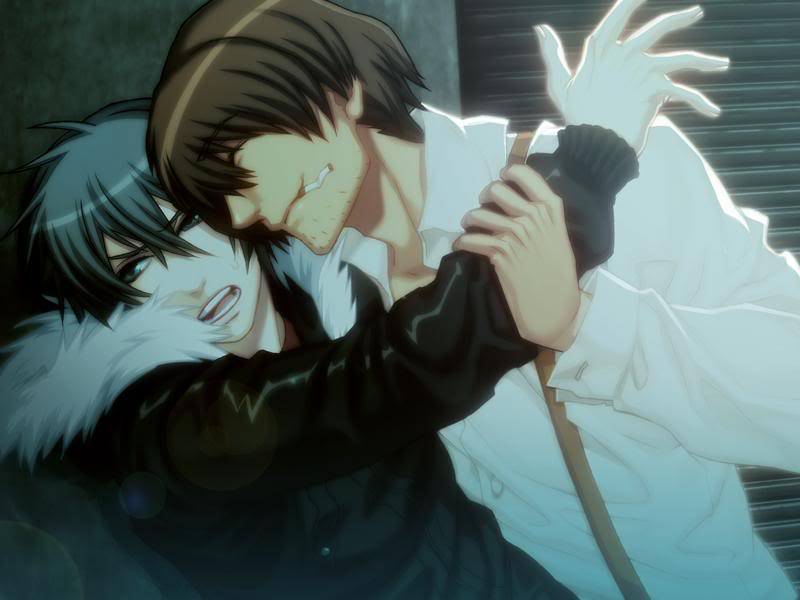File:Togainu no Chi screen Motomi and Akira.png