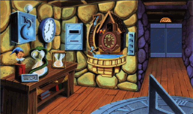 The Castle Of Dr Brain Clock Room Strategywiki The