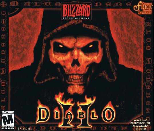 Diablo  Getting Into The Building In Tristram